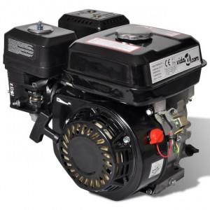 Motor pe benzină, negru, 6,5 CP, 4,8 kW