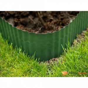 Nature Bordură de grădină, verde, 0,25 x 9 m