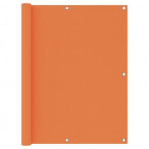 Paravan pentru balcon, portocaliu, 120x300 cm, țesătură Oxford