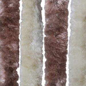 Perdea pentru insecte, bej și maro deschis, 100x220 cm Chenille
