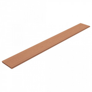 Plăci de schimb pentru gard, 9 buc., maro, 170 cm, WPC