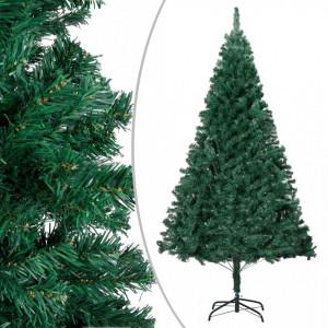 Pom de Crăciun artificial cu ramuri groase, verde, 240 cm, PVC
