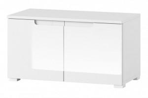 Selene 18 (cabinet) white high gloss/white