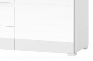 Selene 5 comoda white high gloss/white
