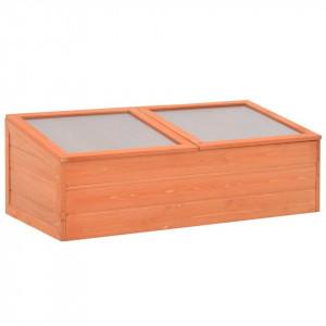 Seră din lemn, 100 x 50 x 34 cm