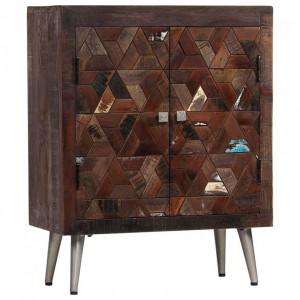 Servantă din lemn masiv reciclat, 60 x 30 x 76 cm