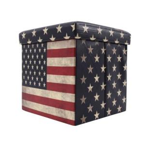 Taburet USA, 38 x 38 x 38 cm
