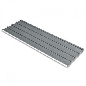 Panouri pentru acoperiș, oțel galvanizat, gri, 12 buc.