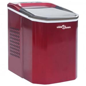 Aparat de făcut cuburi de gheață, roșu, 1,4 L, 15 kg / 24 h