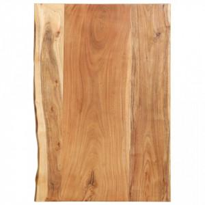 Blat lavoar de baie, 80 x 55 x 3,8 cm, lemn masiv de acacia