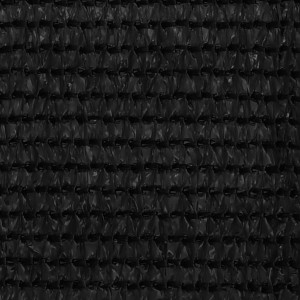 Covor pentru cort, negru, 200x400 cm