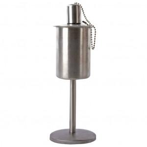 Esschert Design Felinar cu ulei, vertical, oțel inoxidabil