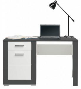Gray gr-12 white mat-graphite birou