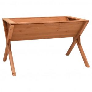 Jardinieră, 90 x 55 x 56 cm, lemn de brad