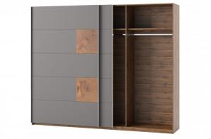 Livorno 72 dulap oak wotan/bazaltowo-grey