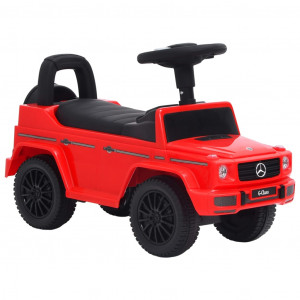 Mașinuță pentru pași Mercedes-Benz G63, roșu