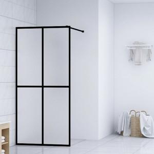 Paravan de duș walk-in, 80 x 195 cm, sticlă securizată