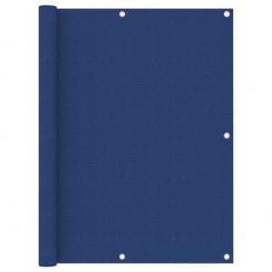 Paravan pentru balcon, albastru, 120x300 cm, țesătură Oxford