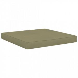 Pernă canapea din paleți, bej, 60 x 61,5 x 6 cm, textil