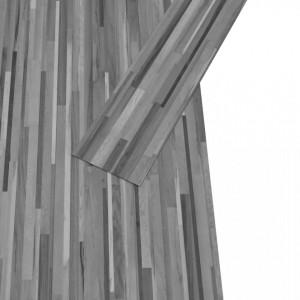 Plăci de pardoseală, gri cu dungi, 4,46 m², PVC, 3 mm