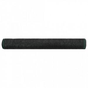 Plasă teren de tenis, negru, 1,6 x 25 m, HDPE