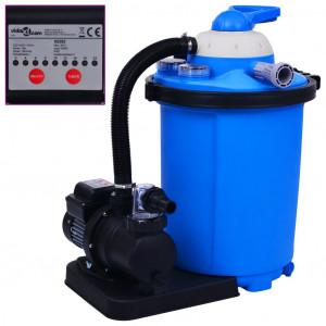 Pompă filtru cu nisip, cu temporizator, 550 W 50 L