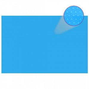 Prelată de piscină, albastru, dreptunghiular, 600 x 400 cm, PE