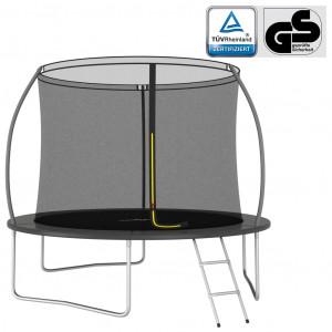 Set trambulină rotundă, 305x76 cm, 150 kg