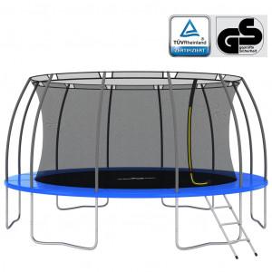 Set trambulină rotundă, 488x90 cm, 150 kg
