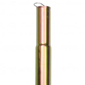 Stâlp pentru parasolar, 200 cm, oțel zincat