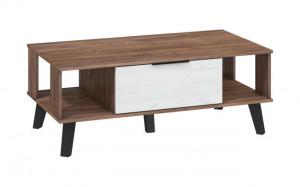 SVEN SVN-05 (COFFEE TABLE) CRAFT TOBACO/CRAFT WHITE