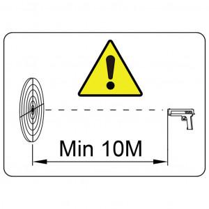 Țintă de tragere, 2 ținte, design rotund și rață