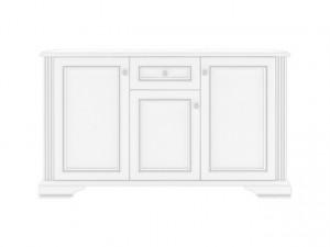White 009 Comoda 3D1S Snowy Ash-Tree/Silver Pine
