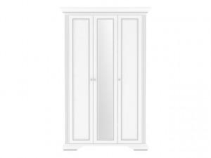 White 013 Dulap 3D(2S) Snowy Ash-Tree/Silver Sosn