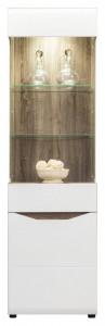 Lionel li-6 vitrina oak s./ white