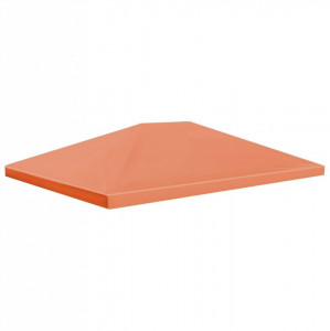 Acoperiș de pavilion, 310 g/m², portocaliu, 4 x 3 m