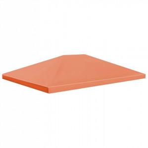 Acoperiș pentru pavilion, 310 g/m², 4 x 3 m, portocaliu