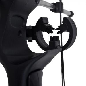 Arc compus pentru adulți cu accesorii și săgeți din fibră de sticlă
