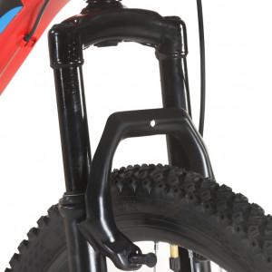 Bicicletă montană, 21 viteze, roată 29 inci, cadru 53 cm, roșu