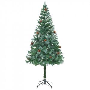 Brad de Crăciun cu conuri 180 cm