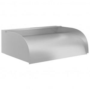 Cascadă cu LED-uri, 45x34x14 cm, oțel inoxidabil 304