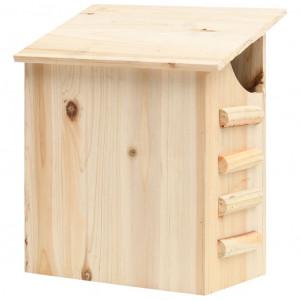 Căsuță de lilieci, 30x20x38 cm, lemn masiv de brad