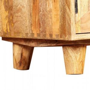 Comodă TV din lemn masiv de mango, 118 x 35 x 40 cm
