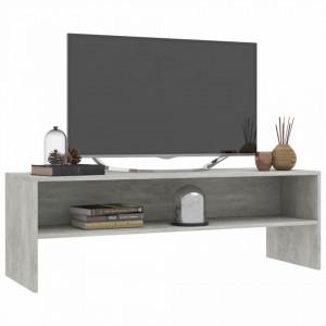 Comodă TV, gri beton, 120 x 40 x 40 cm, PAL