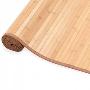 Covor din bambus, maro, 150 x 200 cm