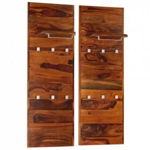 Cuier haine, 118 x 40 cm, lemn masiv de palisandru