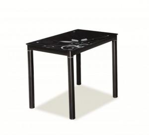 DAMAR TABLE 100x60 BLACK/BLACK