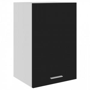 Dulap suspendat, negru, 39,5 x 31 x 60 cm, PAL