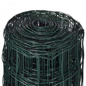 Euro gard, 25 x 1,0 m, oțel, verde