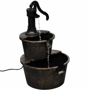 Fântână cu design pompă de puț